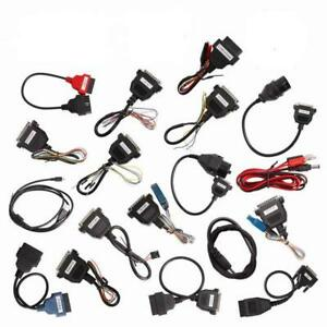 Full Set Cables Of Carprog Full High Quality Cables Without Main Device