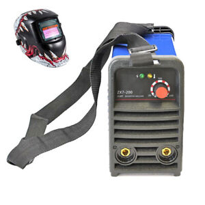 200a 110v Igbt Inverter Mma Welder 3 2 Rod Welding Machine Helmet In Us Stock
