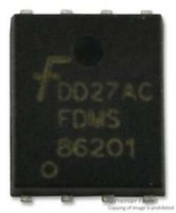 10x Fdms86201 Mosfet n Channel 120v 0 0096ohm 35a power 56 8