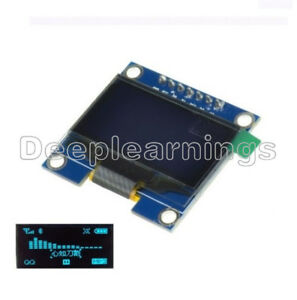 1 3 Blue Spi Serial 128x64 Oled Lcd Display Screen Module For Arduino Uno