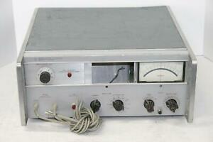 Hp Hewlett Packard 8405a Vector Voltmeter for Parts Only