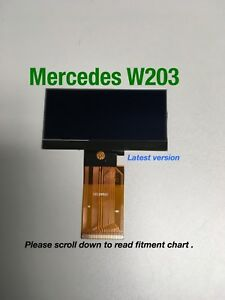 Mercedes W203 C Class Speedometer Cluster Display Screen Lcd 01 04 C Class G