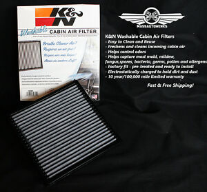 K n Replacement Cabin Air Filter Ford Edge Lincoln Mkx Mazda Cx 9