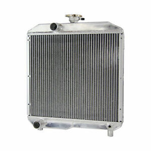Tractor Alloy Radiator Fit Ford Holland 1510 1710 Sba310100291 Sba310100440 Ad