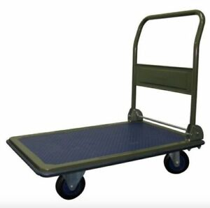 Folding Platform Cart Flat Hand Utility Truck Moving Dolly Warehouse Appliance