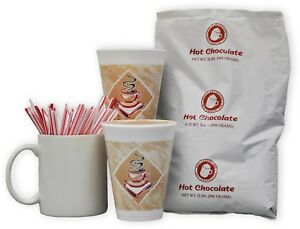 Powdered Hot Chocolate Mix Use In Powdered Hot Drink Machines 2 Lb Bags 6 Ct