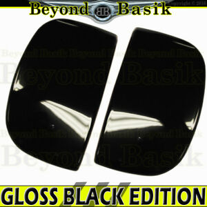 For 2007 2019 Toyota Tundra Extended Cab Gloss Black Door Handle Rear Covers