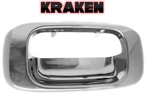Kraken Tailgate Latch Handle Bezel For 99 06 Chevy Silverado Gmc Sierra Chrome