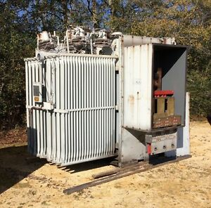 Ge Substation Transformer Gek45249 2500 Kva Primary 19800 Secondary 480y 277