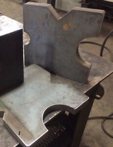 10x10x1 25 Steel Shop Hydraulic Press Plates Ar400 Strongest Available