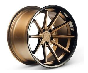 20 Ferrada Fr4 Matte Bronze Concave Wheels For Acura Tl 20x9
