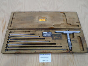 A737 Tumico 0 8 Depth Port Micrometer 001 Res For Hydraulic Machine Shop