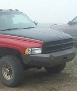 1994 2001 Dodge Ram Winch Ready Replacement Front Bumper Diy Weld Kit