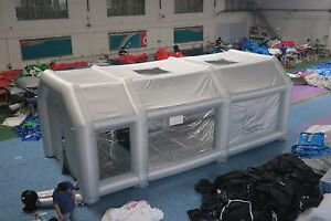 Inflatable Spray Booth Paint Booth Inflatable Car Paint Booth Custom 8 4 3mh