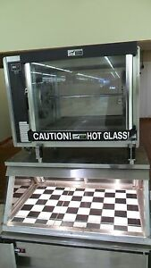 Bki Dr34 Chicken Rotisserie And Ssw4 Warmer Combo Package Fantastic Cond Clean