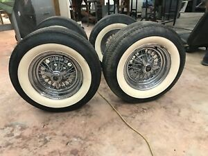 Ford Lincoln Real Wire Wheels 1960 S