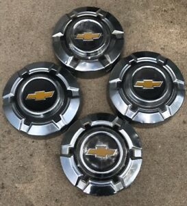 Vintage 1960 S 70 S Chevrolet Truck Hubcaps Set 4 Dog Dish Rat Rod C10