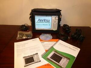 Anritsu Ms2712e 100 Khz To 4 Ghz Spectrum Master Analyzer W Opt 31 Calibrated