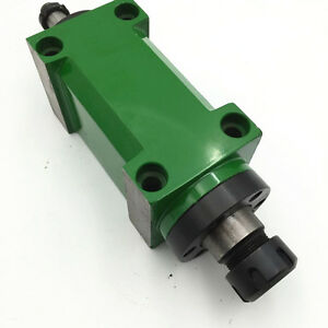 Er25 Spindle Unit 2hp 3000rpm Power Head 80mm For Cnc Drilling Milling Machine
