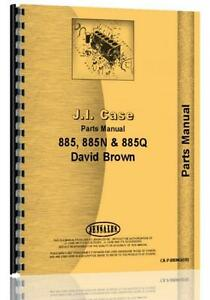 Case 885 885n 885q David Brown Tractor Parts Manual