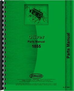 Oliver 1855 Diesel Tractor Parts Manual Catalog Minneapolis Moline G 940