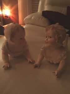 Medium Size Set Of Two Piano Babies