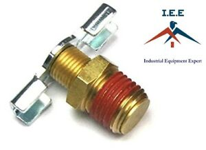 1 4 Npt Drain Valve Petcock Water For Air Compressor Tank Replacement Part Us