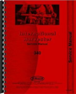 International 340 Tractor 4410 4414 4421 5410 5414 5512 5514 Forklift Svc Manual