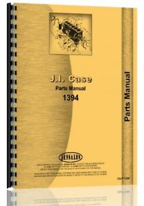 Case David Brown 1394 Diesel Tractor Parts Manual Catalog