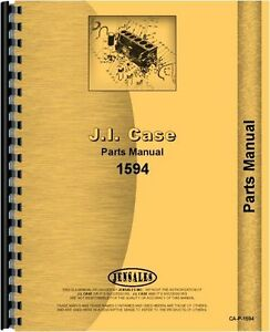 Case David Brown 1594 Diesel Tractor Parts Manual Catalog