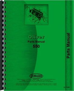 Oliver 550 White Cletrac 2 44 Gas Diesel Tractor Parts Manual Catalog