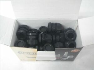 Cable Glands 3 4 Npt Black Cable Range 13 18mm box Of 25pcs new In Box