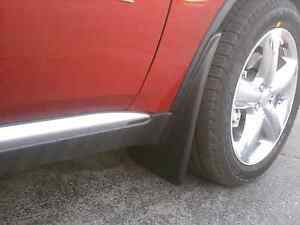 Dodge Durango 2011 2014 Front Molded Splash Guards Mud Flaps Mopar