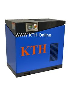 Kth 30hp Brand New Belt Drive Screw Air Compressor 125 Cfm With Tank