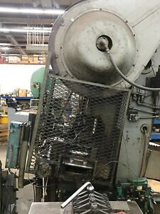 Bliss 60 Ton Automatic Stamping Press currently In Operation W Light Curtain