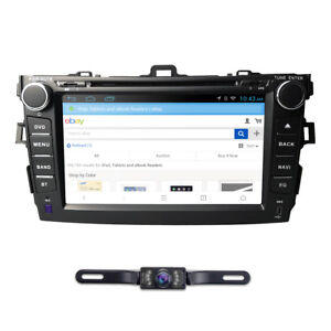 Android 9 0 For Toyota Corolla 2007 2012 8 gps Navi Car Stereo Dvd Player Radio