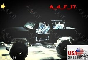 4pc High Power Led Rock Light 15w Super Bright White For Offroad Jeep Polaris_us