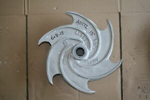 Goulds 3196xlt Pump Impeller 6x8 15 256 116 1203 316ss