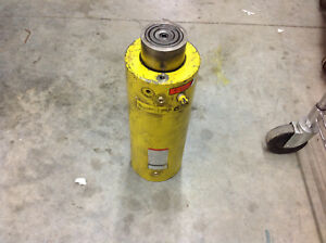 Enerpac Clrg 10012 100 ton X 12 Stroke Double Acting Hydraulic Cylinder