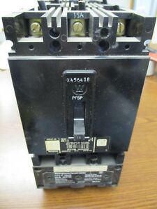 Fb3015l With Current Limiter Westinghouse 15 Amp 600vac Circuit Breaker