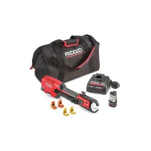 Ridgid 54253 Pex one 12v Cordless Astm Press Tool Kit