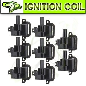 Set Of 8 New Ignition Coil For 2001 2002 Gmc Sierra 2500 Hd Sierra 3500 8 1l