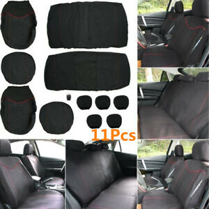 11x Full Set Front Rear Car Seat Protector Cover Interior Accessories Back Set