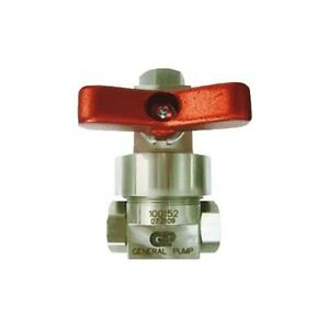 General Pump 100152 Pulse actuated Chemical Pump With Ball Valve