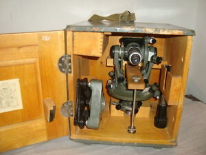 Vintage Optical Theodolite 1 Ussr Russia Transit Survey Level 1955 not Used