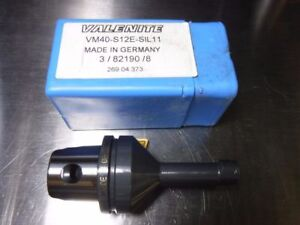 Valenite Km40 Vm40 Internal Threading Bar Vm40 S12e Sil11 loc1239b