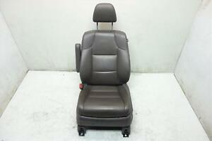 2011 2012 2013 Honda Odyssey Exl Touring Front Driver Left Seat Black Leather