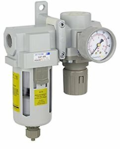 Pneumaticplus Sau420 n04g Compressed Air Filter Regulator Combo 1 2 Npt