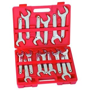 15 Pc Metric Service Wrench Set Compare To Famous Name Brand