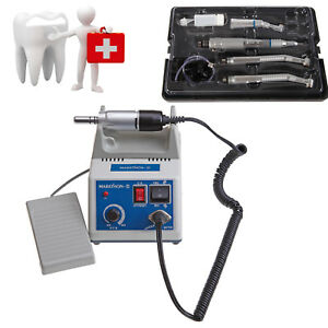 Marathon Polisher Electric Micro Motor high Low Speed Handpiece Kit Fit Nsk Cmj